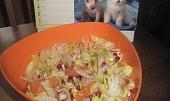 Ledový salát s fenyklem a pomerančem