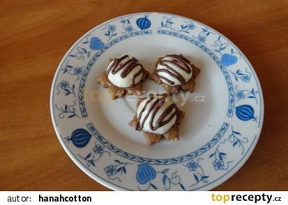 Mandlovo čokoládové cukroví.