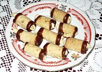 Ořechové minitrubičky
