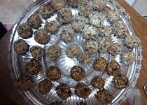 Ovesné kuličky se sušeným ovocem