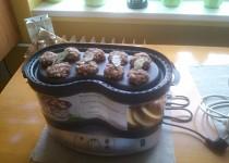 Parní masové placičky s bramborem