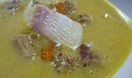 Polévka z uzených ryb podle Radka Kašpárka