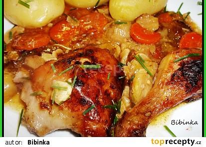 Růžičkové pečené kuře