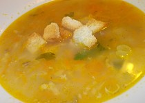 Jemná, rybí polévka z tilapie
