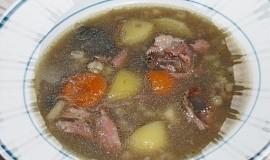 Sytá uzená polévka