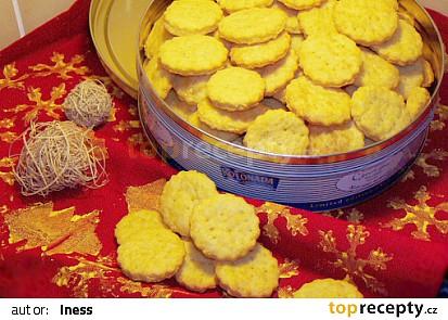 Zlaté sýrové sušenky