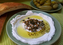 Arabsky labane (jogurtovy syr)