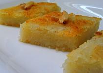 Basbousa - krupicový koláč