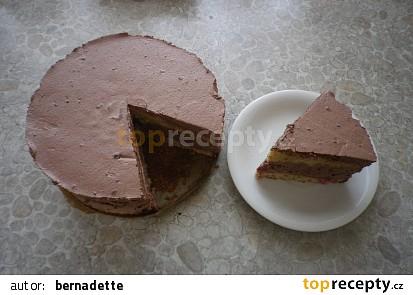 Bezlepkový pařížský dort s malinami
