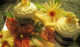 Chlebový dort - pullitr
