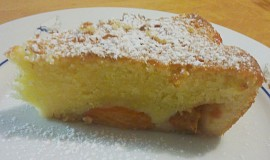 Citrónový koláč s meruňkama