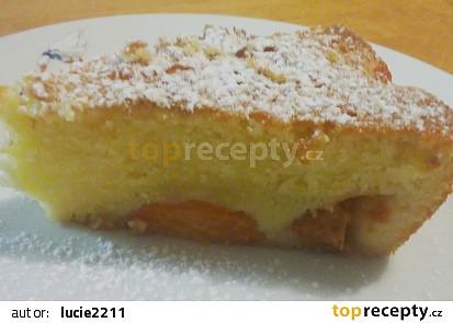 Citrónový koláč s meruňkami