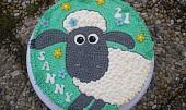 Dort ovečka Shaun - krémová