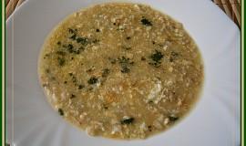 Drožďová polévka s ovesnými vločkami