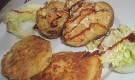 Dvakrát zapečené brambory