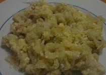 Halušky s vajíčkem