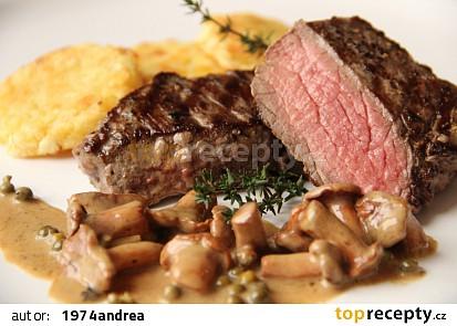 Jelení steak