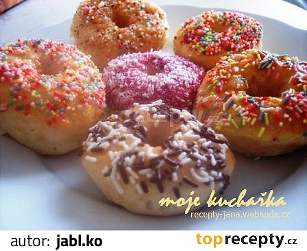 mini donut recept