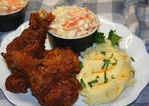 Kuřecí menu na způsob KFC