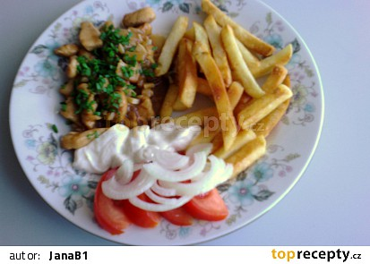 Kuřecí nudličky s ananasem 1