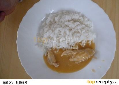 Kuřecí prsa na paprice