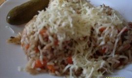 Lehké rizoto s kuřecím masem