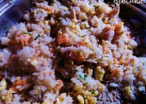 Losos v rýži