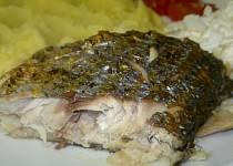 Mořská ryba v papilotě