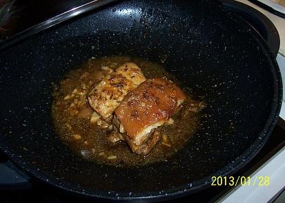 maso dušené ve woku