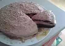 Nutelový Míša dort