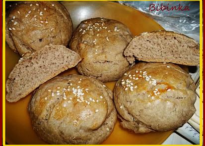 Pečivo z chlebové mouky
