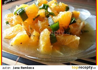 Pomerančový salát