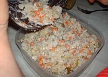 Rybí salát z kapra