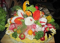 Slavnostní chlebový dort -