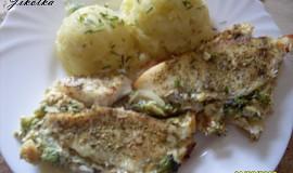 Tilapie zapečená s brokolicí