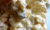Vaječný salát se sýrem