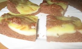 Vanilkovo-kakaové řezy