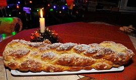 Vánočka - Mazanec