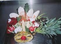 Vozíček z ananasu