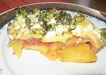 Zapečená brokolička