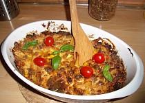 Zapékané těstoviny s mletým masem