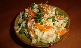 Zimní salát s čínského zelí