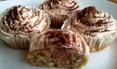 Banánové muffiny s krémem