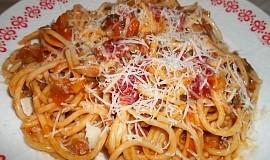 Boloňské špagety na víně