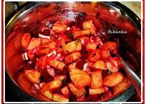 Bramborovo-červený řepový salát