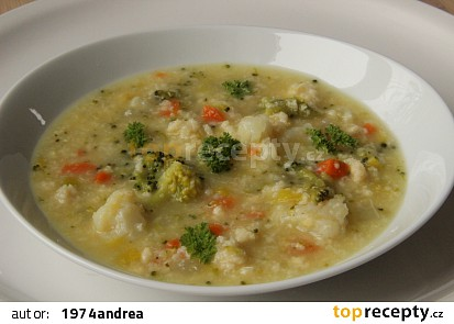 Chalupářská letní polévka