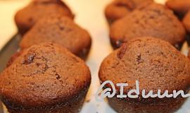 Čokoládové muffiny - hrníčkový recept