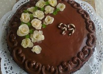 Čokoládový dort s Ganache