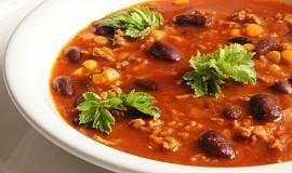 Fazolová polévka po mexicku