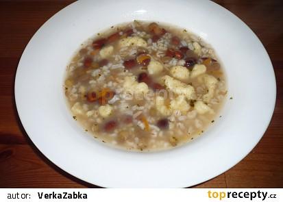 Hrstková polévka alá Verča